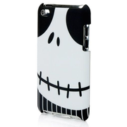 PDP PDPPDP1345FR, Cover, Black, White, Apple, iPod Touch 4G, Scratch resistant, Shock resistant, 1 pc(s)