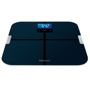 Medisana BS 440, Electronic personal scale, 180 kg, kg,lb,st, 8 user(s), LCD, 70 x 49 mm