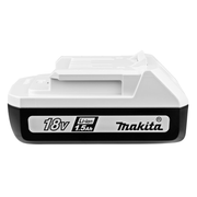 Makita 198186-3, Battery, Lithium-Ion (Li-Ion), 1.5 Ah, 18 V, Makita, 1 pc(s)