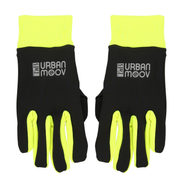 T'nB UMGLOVES, Full finger cycling gloves, Adult, Unisex, Black, Monotone, One size