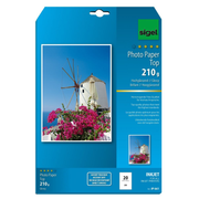Sigel IP661, Inkjet printing, A4 (210x297 mm), Gloss, 20 sheets, White, 210 g/m²