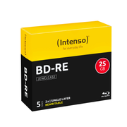 Intenso 5201215, 25 GB, BD-RE, jewelcase