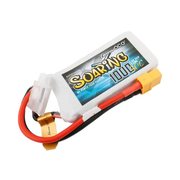 Gens ace BSR30C10002S, Battery, Universal, Helicopter, XT60, JST-XHR, Lithium Polymer (LiPo)