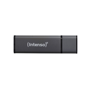 Intenso Alu Line, 64 GB, USB Type-A, 2.0, 28 MB/s, Cap, Anthracite