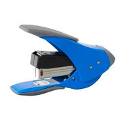 Rexel Easy Touch Low Force Quarter Strip Stapler Blue, 20 sheets, Blue, Metal, Rubber, 1.8 cm, China, 209 g