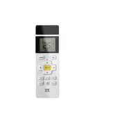 One For All URC 1035, Air conditioner, IR Wireless, Press buttons, Built-in display, Black, White