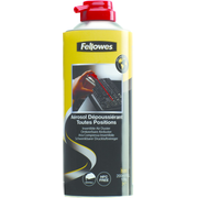 Fellowes HFC Free Invertible Air Duster, Equipment cleansing air pressure cleaner, Keyboard, Metal, Multicolour, 64 mm, 64 mm