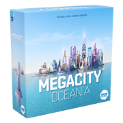 Asmodee Megacity: Oceania, Strategy, Adults & Children, 8 yr(s), 45 min