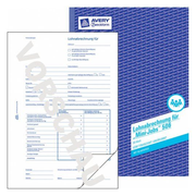 Avery 506, Blue, White, Paper, 210 mm, 297 mm