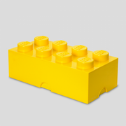 Room Copenhagen LEGO STORAGE BRICK 8, Yellow, Polypropylene (PP), 500 mm, 250 mm, 180 mm