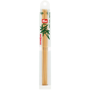 Prym 12212110, Double pointed knitting needle, Wood, Bamboo, 20 cm, 2.5 mm, 5 pc(s)