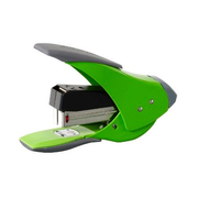 Rexel Easy Touch Low Force Quarter Strip Stapler Green, 20 sheets, Green, Metal, Rubber, 1.8 cm, Top, China