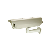 LevelOne Box Camera Housing, IR LEDs, Indoor/Outdoor, PoE PD, Beige, FSW-0513 POI-4000, IP66, 157 mm, 460 mm, 130 mm