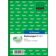 Sigel RE625, 100 sheets, A6, Blue,White