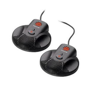 POLY 2200-15855-001, IP phone microphone, Wired, Black, 2.1 m, Polycom CX3000 / SoundStation Duo, 2 pc(s)