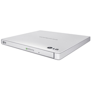 LG GP57EW40, White, Tray, Desktop/Notebook, DVD Super Multi, USB 2.0, CD-R,CD-ROM,CD-RW,DVD+R,DVD+R DL,DVD+RW,DVD-R,DVD-R DL,DVD-RAM,DVD-ROM,DVD-RW
