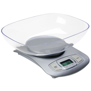 Adler AD 3137s, Electronic kitchen scale, 5 kg, 1 g, Silver, Countertop, Buttons