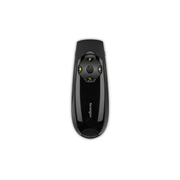 Kensington Presenter Expert™ Wireless Cursor Control with Green Laser and Memory, RF, USB, 45 m, Black