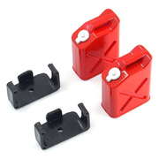 YeahRacing YA-0355, Black, Red, Plastic, Steel, 1:10, 2 pc(s)
