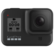 GoPro HERO8 Black, 4K Ultra HD, 12 MP, 240 fps, GPS (satellite), Wi-Fi, Bluetooth