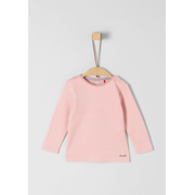 s.Oliver 56.899.31.0756, Female, Sweatshirt, Pink, White, Baby (height), Pattern, Long sleeve