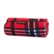 Spokey Picnic Highland, 150 x 130 cm, Red, Pattern, Polyester, Foam, 380 g