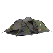 Coleman Tasman 3, Camping, Hard frame, Tunnel tent, 3 person(s), Green, Grey