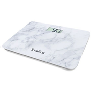 Terraillon POCKET MARBLE, Electronic personal scale, 150 kg, 100 g, kg, Rectangle, Marble colour