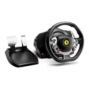 Thrustmaster TX Racing Wheel Ferrari 458 Italia Ed., Steering wheel + Pedals, PC, Xbox One, Analogue, 900°, Wired, Black