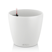 LECHUZA Classico Color 28, Pot planter, Freestanding, Polypropylene (PP), White, Indoor, Round