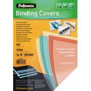 Fellowes 5380001, A4, PVC, Transparent, Glossy, 297 mm, 210 mm