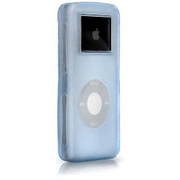 iSkin 6412-DNCC, Blue, Translucent, Apple, iPod Nano, Scratch resistant, Shock resistant
