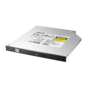 ASUS SDRW-08U1MT, Black, Tray, Horizontal, Notebook, DVD-RW, Serial ATA