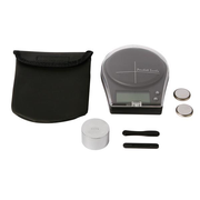 Velleman VTBAL22, Electronic personal scale, 0.5 kg, 0.1 g, Black, Buttons, LCD