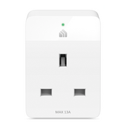 TP-LINK Kasa Smart Wi-Fi Plug Slim, Wireless, Wi-Fi, 2400 MHz, 802.11b,802.11g,Wi-Fi 4 (802.11n), Indoor, White