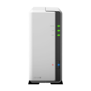 Synology DiskStation DS120j, NAS, Tower, Marvell Armada 3700, 88F3720, 1 TB, Grey, White