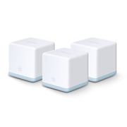 Mercusys AC1200 Whole Home Mesh Wi-Fi System, White, Internal, 0 - 40 °C, -40 - 70 °C, 10 - 90%, 5 - 90%