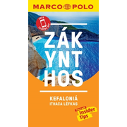 Zakynthos and Kefalonia Marco Polo Pocket Travel Guide - with pull out map - Includes Ithaca and Lefkas. Free Touring App