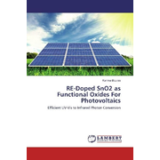 RE-Doped SnO2 as Functional Oxides For Photovoltaics - Efficient UV-Vis to Infrared Photon Conversion