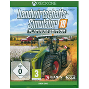 Landwirtschafts-Simulator 19, 1 Xbox One-Blu-ray Disc (Platinum Edition)