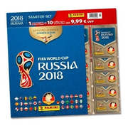 FIFA World Cup Russia 2018 Starter-Set 3 - Stickeralbum + 10 Stickertüten