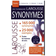 Dictionnaire des synonymes - 165 000 synonymes et 25 000 exemples
