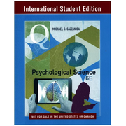 Psychological Science with Ebook and InQuizitive    ISE - International Student Edition 6e - With Ebook and InQuizitive