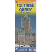 International Travel Map ITM Southern Quebec - Montreal