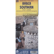 International Travel Map Southern Africa