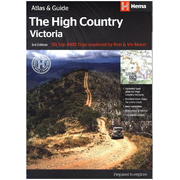 High Country Victoria 1:200 000 Atlas and Guide