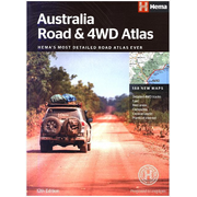 Australia Road & 4WD Atlas (perfect bound) - HEMAs most detailed road atlas ever with 188 new maps