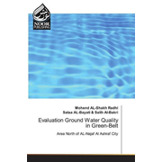 Evaluation Ground Water Quality in Green-Belt - Area North of AL-Najaf Al Ashraf City