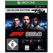F1 2018, 1 XBox One-Blu-ray Disc (Headline Edition)