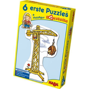 HABA 6 Little Hand Puzzles – Construction